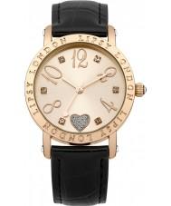 Lipsy LP113 Damas se levantaron oro y reloj negro