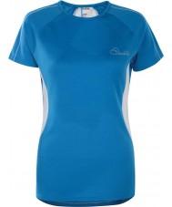 Dare2b DWT336-5NN12L Señoras de la reforma de metilo camiseta azul - el tamaño de uk 12 (m)