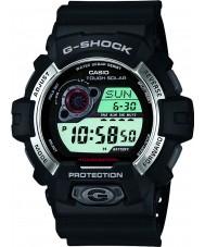 Casio GR-8900-1ER Mens G-SHOCK reloj solar correa de resina negro alimentado