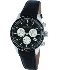 Dreyfuss and Co DGS00032-04 Mens 1953 reloj cronógrafo negro