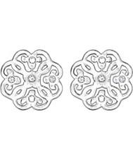 Thomas Sabo H1881-051-14 Señoras de filigrana aretes de plata arabescos