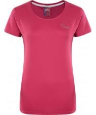 Dare2b Señoras impulso eléctrica camiseta rosa