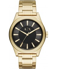 Armani Exchange AX2328 Mens nico reloj de pulsera de acero de oro