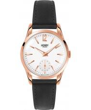 Henry London HL30-US-0024 Damas Richmond reloj negro blanco
