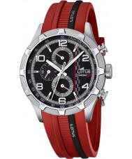 Lotus 15881-2 Para hombre de Marc Márquez crono gp reloj rojo negro
