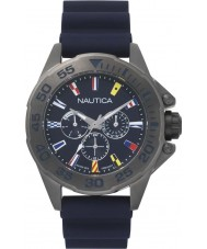 Nautica NAPMIA008 Mens miami flags watch set de regalo