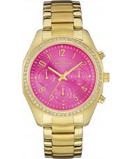 Caravelle New York 44L168 Las señoras reloj cronógrafo de oro rosa melissa