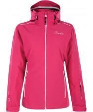 Dare2b DWP305-1Z006L Trabajo de las señoras para arriba la chaqueta de esquí de color rosa eléctrico - el tamaño de uk 6 (XXS)