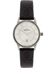 Dreyfuss and Co DLS00135-01 Las señoras 1980 reloj de la correa de cuero marrón
