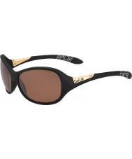 Bolle gafas de sol negro de armas de piedra arenisca polarizada gracia mate