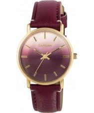 Kahuna KLS-0322L reloj de la correa de PU de las señoras de la baya