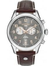 Roamer 540951-49-06-05 Para hombre reloj cronógrafo marrón Soleure