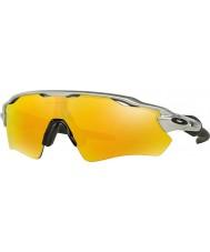 Oakley Oo9208-02 radar ev ruta plata - las gafas de sol de iridio fuego