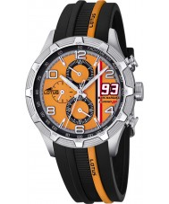 Lotus 15881-4 Para hombre de Marc Márquez crono gp reloj negro naranja
