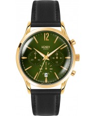 Henry London HL41-CS-0106 Mens chiswick musgo verde reloj cronógrafo negro