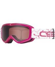 Cebe 1350D003XS Teletransportador rosa - rosa oscuro gafas de esquí