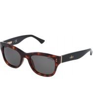Zadig and Voltaire Señoras szv051-09at brillantes gafas de sol rojas de La Habana