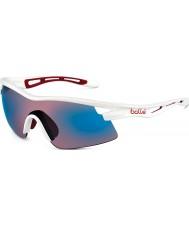 Bolle Vortex blanco brillante rosa gafas de sol azules