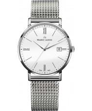 Maurice Lacroix EL1087-SS002-111-1 Mens Eliros reloj de pulsera de acero de malla de plata