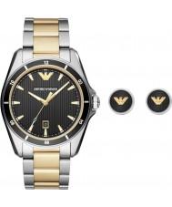 Emporio Armani AR80017 Reloj para hombre regalo conjunto