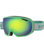 Bolle 21444 zar mate verde y gris - verde esmeralda gafas de esquí