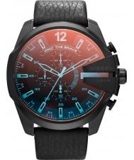 Diesel DZ4323 Mens Mega jefe de reloj cronógrafo negro