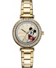 Disney by Ingersoll ID00304 el oro de las señoras unión plateado reloj pulsera