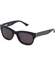 Zadig and Voltaire Damas szv051v-700 gafas de sol negros brillantes