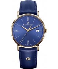 Maurice Lacroix EL1087-PVP01-410-1 Mens Eliros azul reloj de la correa de cuero