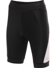 Dare2b DWJ300-8K408L Damas gratificar ciclo pantalones cortos blancos negros - XXS tamaño (8)