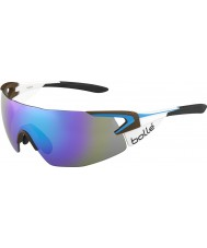 Bolle 5º elemento del equipo profesional AG2R La gafas de sol de color azul-violeta mondiale