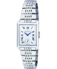 Dreyfuss and Co DLB00007-21 Las señoras 1974 del reloj de acero de plata