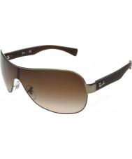 RayBan Rb3471 32 hijo mate en gris metal 029-13 gafas de sol