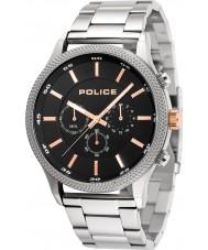 Police 15002JS-02M Mens reloj de ritmo