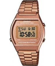 Casio B640WC-5AEF Señoras digitales de la colección retro reloj de oro rosa