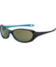 Cebe Koala (7-10 años) gafas de sol azules brillantes de cristal negro