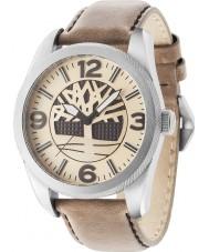 Timberland 14770JS-07 Reloj para hombre de la correa de cuero marrón Bolton