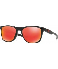 Oakley Oo9340-02 trillbe x negro pulido - gafas de sol de rubíes de iridio