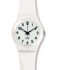 Swatch GW151O Sólo reloj blanco suave