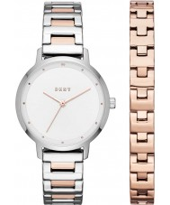 DKNY NY2643 Conjunto de regalo de reloj modernista de mujer