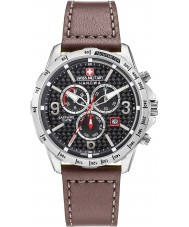 Swiss Military 6-4251-04-007 Mens as Reloj Chrono correa de cuero marrón