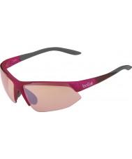 Bolle Breakaway brillante modulador gris rosa rosa gafas de sol del arma
