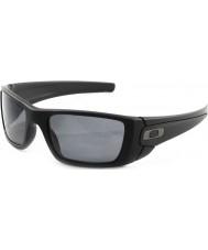 Oakley mate Oo9096-05 pila de combustible negro - gris gafas de sol polarizadas