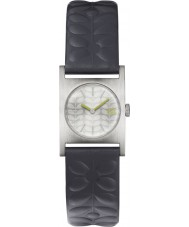 Orla Kiely OK2127 Damas nemo reloj de la correa de cuero azul marino