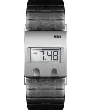 Braun BN0076SLBKG Para hombre del reloj digital negro