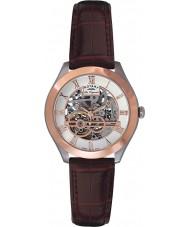 Rotary GS90511-21 Para hombre originales les jura esqueleto automática reloj de oro rosa