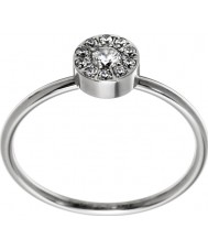 Edblad 41530065-M Señoras thassos Mini anillo de acero de plata - tamaño de p (m)