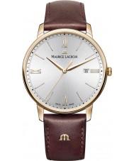 Maurice Lacroix EL1118-PVP01-111-1 Mens Eliros reloj de la correa de cuero marrón