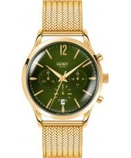 Henry London HL41-CM-0108 reloj cronógrafo para hombre verde de oro Hamilton chiswick musgo