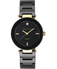 Anne Klein AK-N1018BKBK Reloj damas alicia